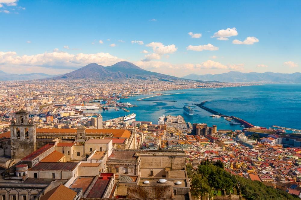 coastal view of Naples