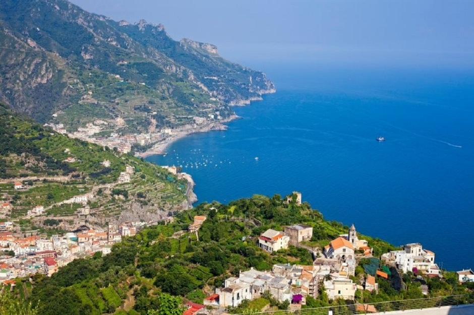 coastal view of Ravello