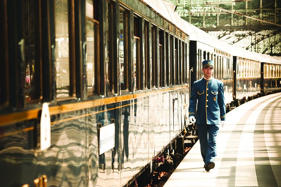 VSOE outside train small