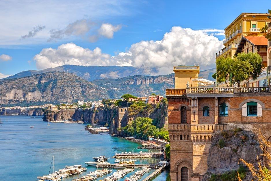 coastal view or Sorrento